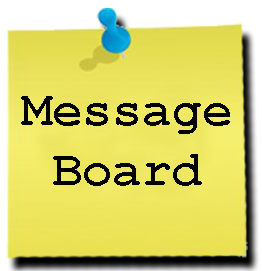 Image result for message board banner
